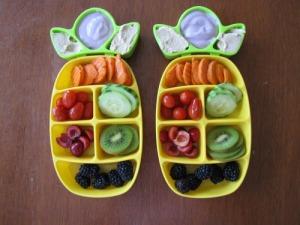 veggie dip tray