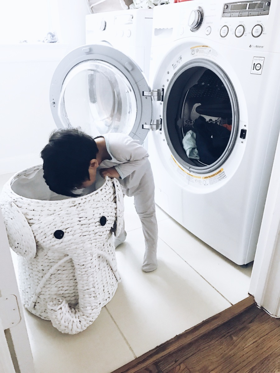 How My Toddler is Learning Basic Life Skills Through Age Appropriate Chores
